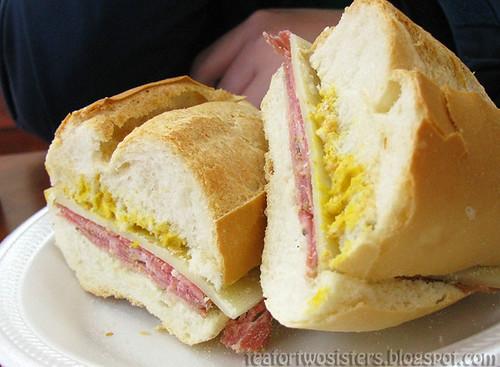 Capocollo Sandwich