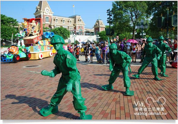 【香港迪士尼】跟著via玩香港(3)~迪士尼卡通人物歡樂巡遊39