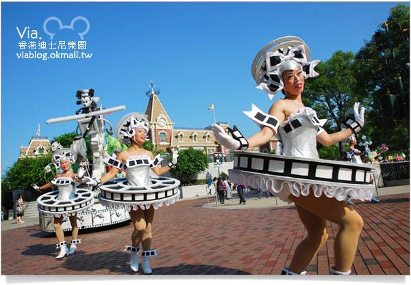 【香港迪士尼】跟著via玩香港(3)~迪士尼卡通人物歡樂巡遊18