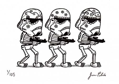 墨西哥風格星戰漫畫(圖集)