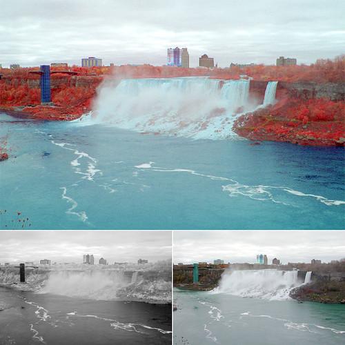 Rainbow (American) Falls, Niagara Falls, NY (November 2010)