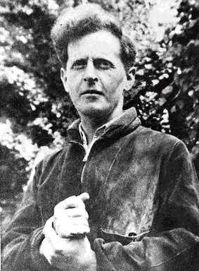Wittgenstein's clenched fist