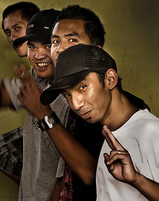 Skaters en Tagaytay.