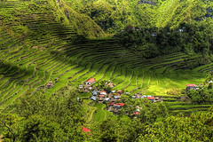 Batad (TravelnFotog) Tags: mountain nature nikon rice philippines farming d70s terraces roadtrip manmade batad hdr irrigation ifugao riceterraces luzon cordilleras photomatix contouring travelnfotog
