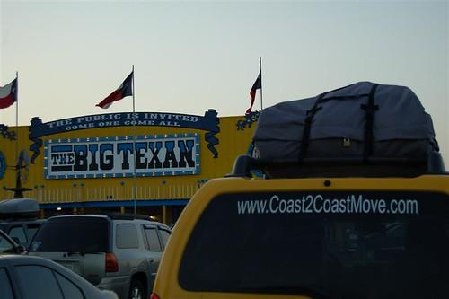 at the Big Texan