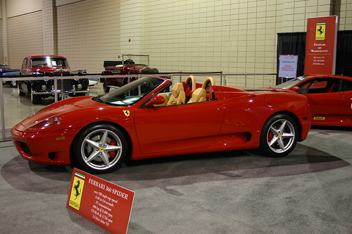 Фото Ferrari (Ферари Спайдер) 360 Spider