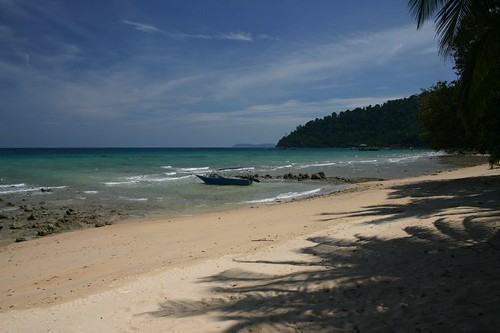Air Batang. Wonderful Tioman Island, Southeastern Malaysia. July 2007.