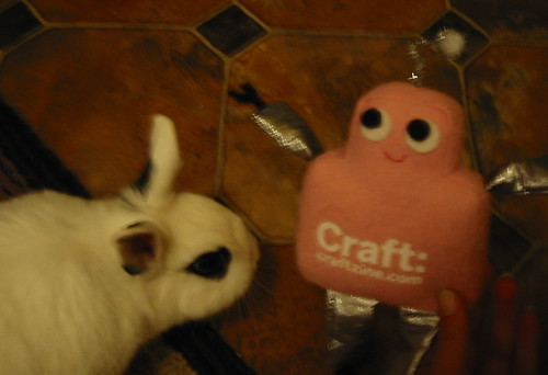 Pink Craftie and Potato
