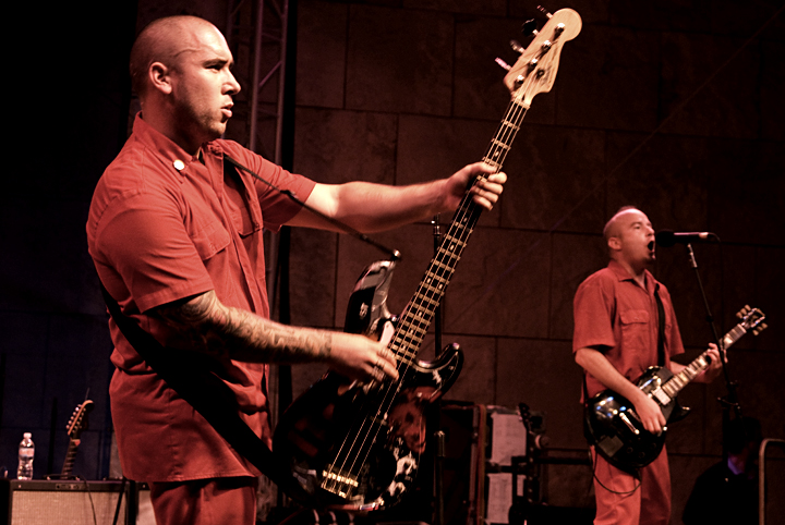 J Bonner and Brian Dixon of The Aggrolites