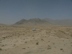Kabul woestijn Afghanistan