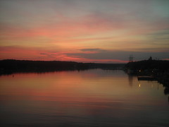 Sunset in the Aland Islands (georgerob2312) Tags: sunset harbour aland