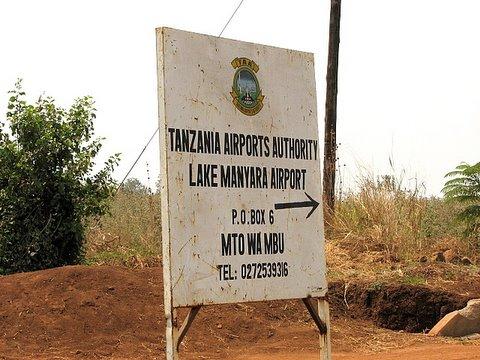 lake manyara airport, too cute for words