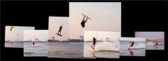 kiteboarding flip - by paul+photos=moody