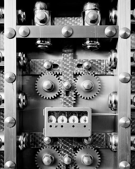 Vault door inside