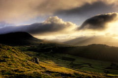 Morning Sunlight, Mourne Mountains, Northern Ireland. (Mr Bultitude) Tags: morning ireland sunlight mountains clouds sunrise dawn day cloudy neil northernireland mourne carey mournemountains mournes outstandingshots abigfave anawesomeshot hspoker fiveflickrfavs 5flickrfavs neilcarey