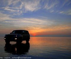 (!  ) Tags: sunset sunrise al toyota landcruiser doha qatar horizen sohail suhail     najem wakrah  wakra quatar      aplusphoto