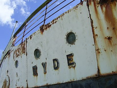 PS Ryde, Isle of Wight (Richard and Gill) Tags: ferry boat rust ship isleofwight medina wight ryde rydequeen southernrailway paddlesteamer isleofwightferry psryde psrydequeen