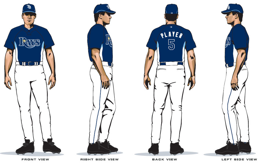 quality design 7b21d 670fd The New Tampa Bay Rays Uniforms | Rays Index