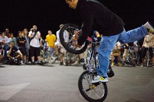 BMX at the Pier