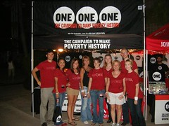 ONE/(RED) volunteer crew
