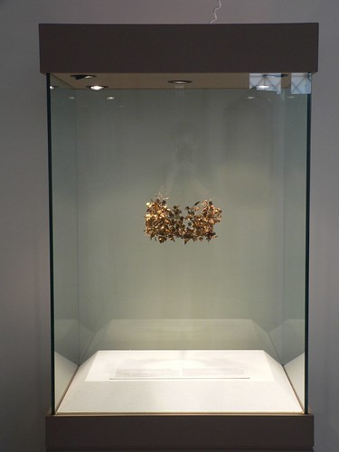 Repatriated Macedonian gold wreath