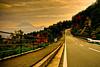 The Road to Fuji (TheJbot) Tags: road street sunset japan fuji 日本 hdr yamanashi jbot lightroom 富士さん thejbot