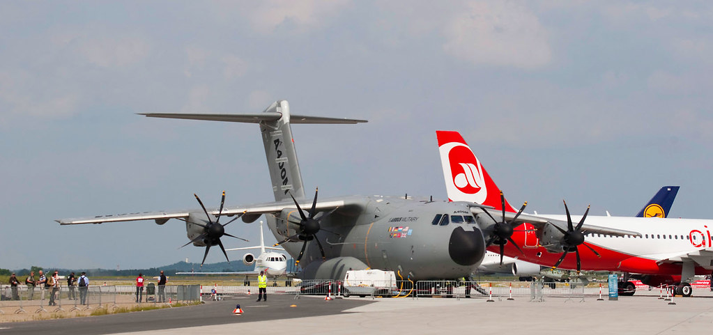 Berlin ILA 2010 - Tuesday Trade Day - A400M