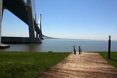 Ponte Vasco da Gama, Parque das Nações (Gonçalo Arruda) Tags: parque portugal lisboa ponte vasco gama nações