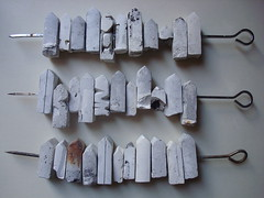 Neighbors -  (Sharon Pazner) Tags: house home telaviv plaster mold gesso tlv skewers      sharonpazner