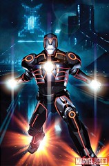 06 INVINCIBLE IRON MAN #33 TRON Variant, featuring Iron Man