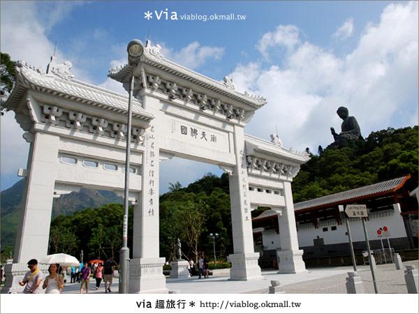 【香港迪士尼】跟著via玩香港(3)~迪士尼卡通人物歡樂巡遊54