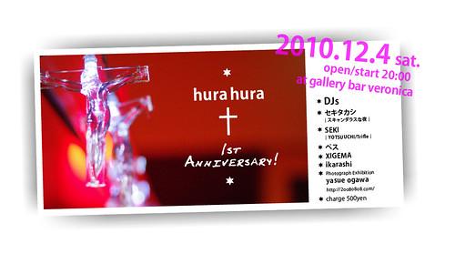 hurahura 1st Anniversary