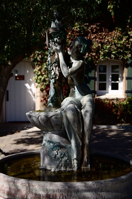 Day Six Viansa Winery Garden Statue