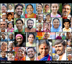 """1000 Smiles"" (photomukul) Tags: portraits smiles exhibition pp sakal 1000smiles"