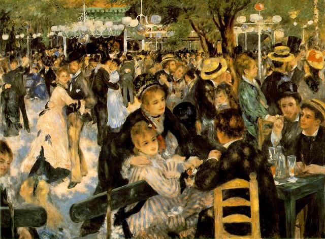 Bal Au Moulin de la Galette, por Pierre-Auguste Renoir