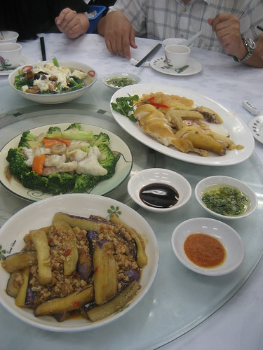 Some great Cantonese dishes.  Lots of fish, chicken and amazing vegetables.