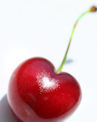 Red is the Color…. (janoid) Tags: love fruit cherry spring heart delicious xoxoxox madewithlove xoxoxoxox imnotsurewhy saturdaysilliness wellalmostalways butikeeptrying ihavetriedforseveraldaystotakepicturesofvariousthingsandhavestruckout whichisagoodthingright sothismorningigotoutthecherriesiboughttheotherday andalongwitheatingthemthethoughtofphotographingthemcameinstantlytomind okayalmostneveratleastwhenitcomestohearts alittlephotoshopplaytimelaterandvoila wheninaslumpgobacktothebasics ihavetoadmitthatiminaphotoslump thisonejumpedoutatmebecauseitwasaheartshapeofcourse whenireviewedtheshotstheshinyspotwasactuallyallllllmostaheartshape andthoughinevertamperwithmyphotos whatyouseeisalwayswhatcamerightoutofmycamera adoubleheartcherryformyflickrfriends