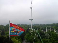 Nessie & Holstein Turm (Störtebecker) Tags: tower rollercoaster nessie hansapark holsteinturm hansaland 30jahrehansapark