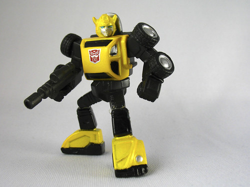 "3"" Titanium Bumblebee (Metallic Exclusive)"