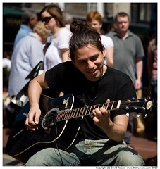 Musician, Grafton St. (C) 2007