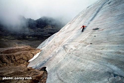 Koch on Carstensz Pyramid