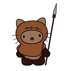 Hello Wicket ([rich]) Tags: toys rich doodle ume scribble richardpage umetoys