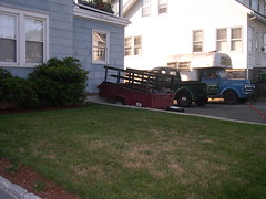 Prop trucks in my driveway