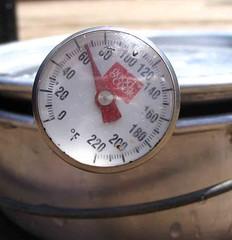 Solar cooker 12 p.m