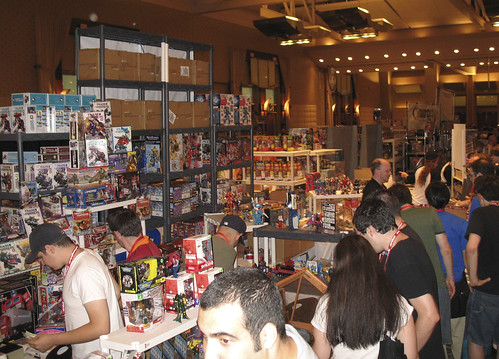 Botcon '07 - Day 2 - Dealer room.