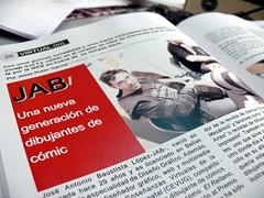 JAB - entrevista revista Inclan
