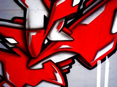 CDP Crew (New England Quarter) (Hive.) Tags: red italy festival graffiti mural brighton shades crew hip hop graff piece burner 2007 cdp bhhf