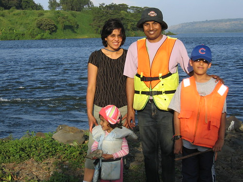 Uganda - Jinja Family at Source of Nile