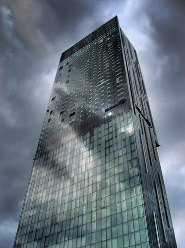Beetham tower HDR