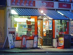 Newsagent (Dominic's pics) Tags: brighton earlymorning lottery cocacola eastsussex cornershop conveniencestore loto argus wallsicecream newsagents